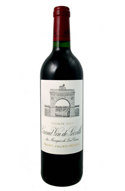 Chateau Leoville Las Cases 2003 Saint-Julien Grand Cru Classe