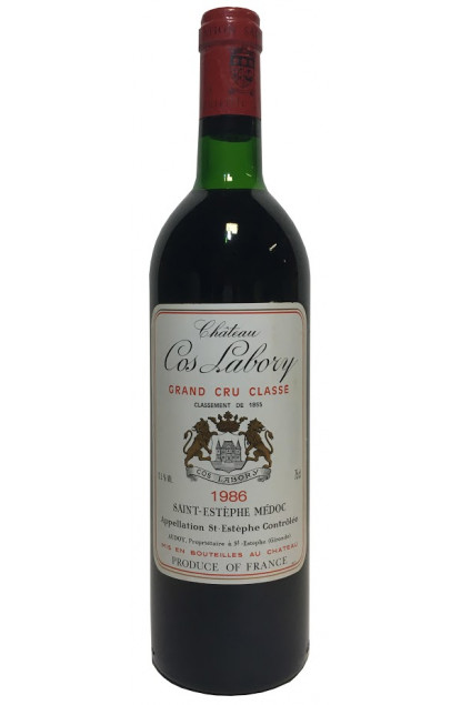 Chateau Cos Labory 1986 Saint-Estephe Grand Cru Classe
