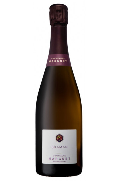 Marguet Shaman Rose 16 Champagne Grand Cru