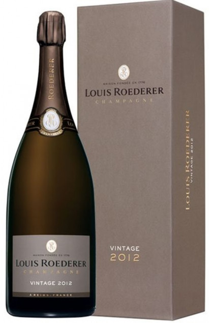 Louis Roederer Brut Millesime 2012 Champagne