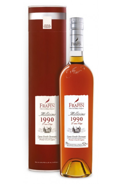 Frapin Chateau Fontpinot Millesime 1991 Cognac Grande Champagne