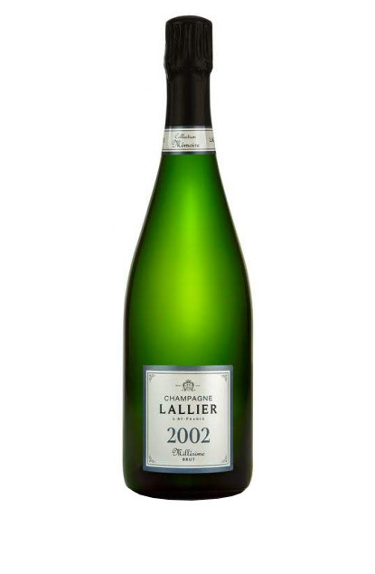 Lallier Collection Memoire Millesime 2002 Champagne