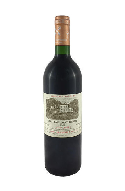 Chateau Saint-Pierre 2000 Saint-Julien Grand Cru Classe