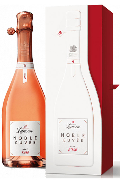 Lanson Noble Cuvee Rose Champagne