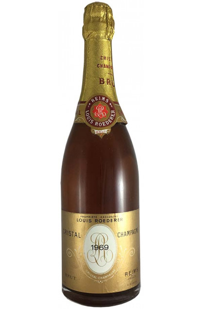 Louis Roederer Cristal 1969 Champagne