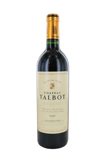 Chateau Talbot 1990 Saint-Julien Grand Cru Classe