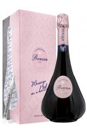 De Venoge Princesse rosé Message on a bottle Champagne